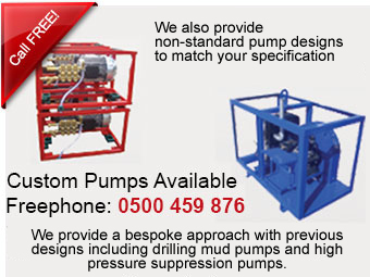 Custom pumps built to order to any requirments